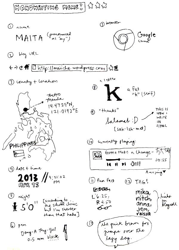handwritingmeme2013